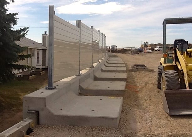 Mounted to Precast Panel Wall momentum slab cap