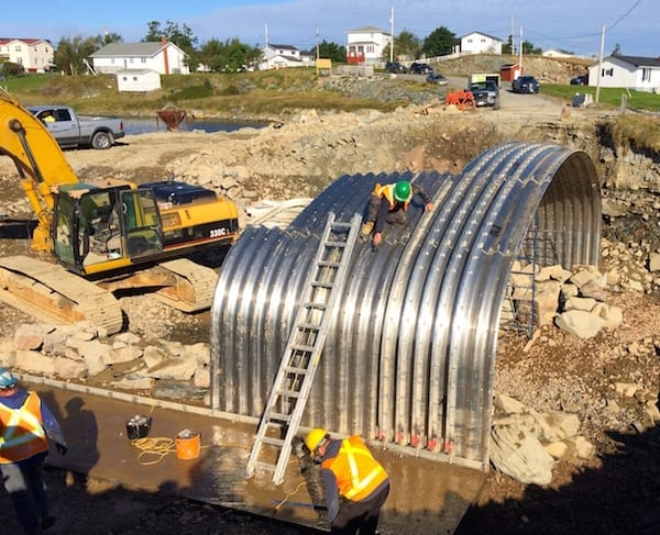 box culvert replacement, saltwater culvert, dur-a-span, culvert, culvert replacement, bridge culvert replacement